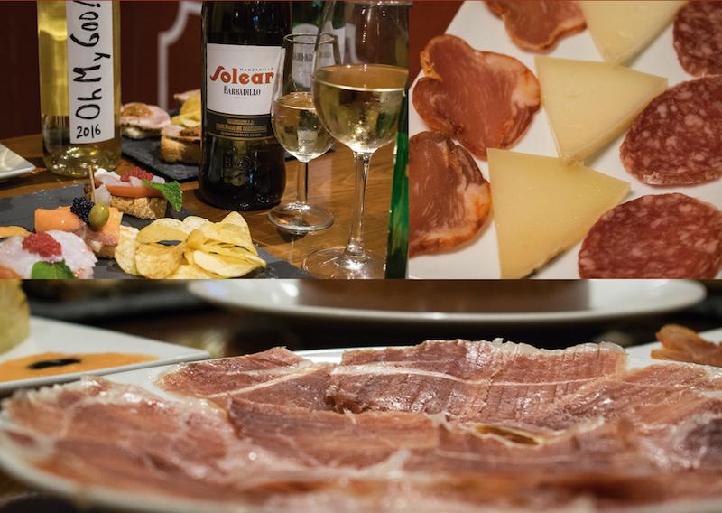 bar de tapeo y bebidas con ambiente flamenco en Sevilla