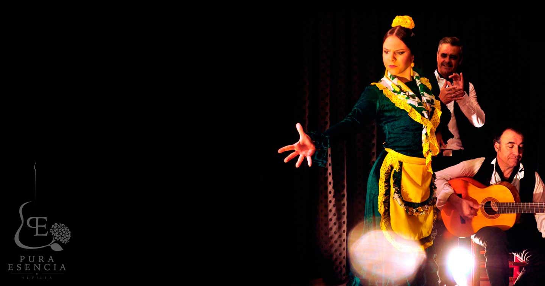 tablao con espectáculo flamenco en Sevilla