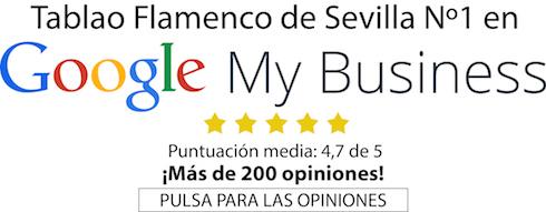 opiniones en Google sobre Tablao Flamenco Pura Esencia Sevilla