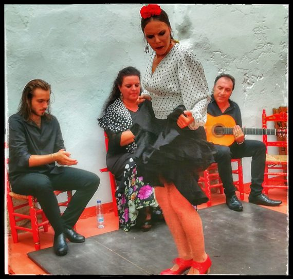 patio flamenco